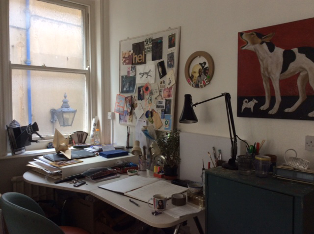 My studio (on a tidy day)