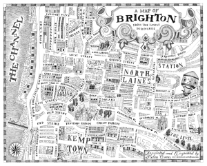 A Map of Brighton from the Latest Discoveries