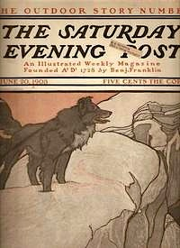 Saturday Evening Post cover.