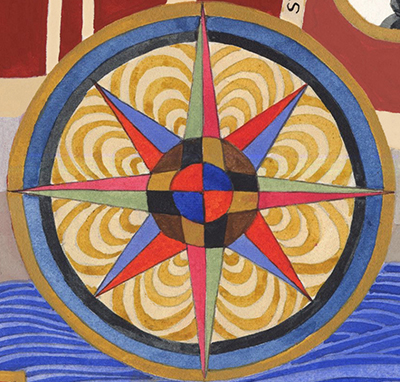 carousel compass rose