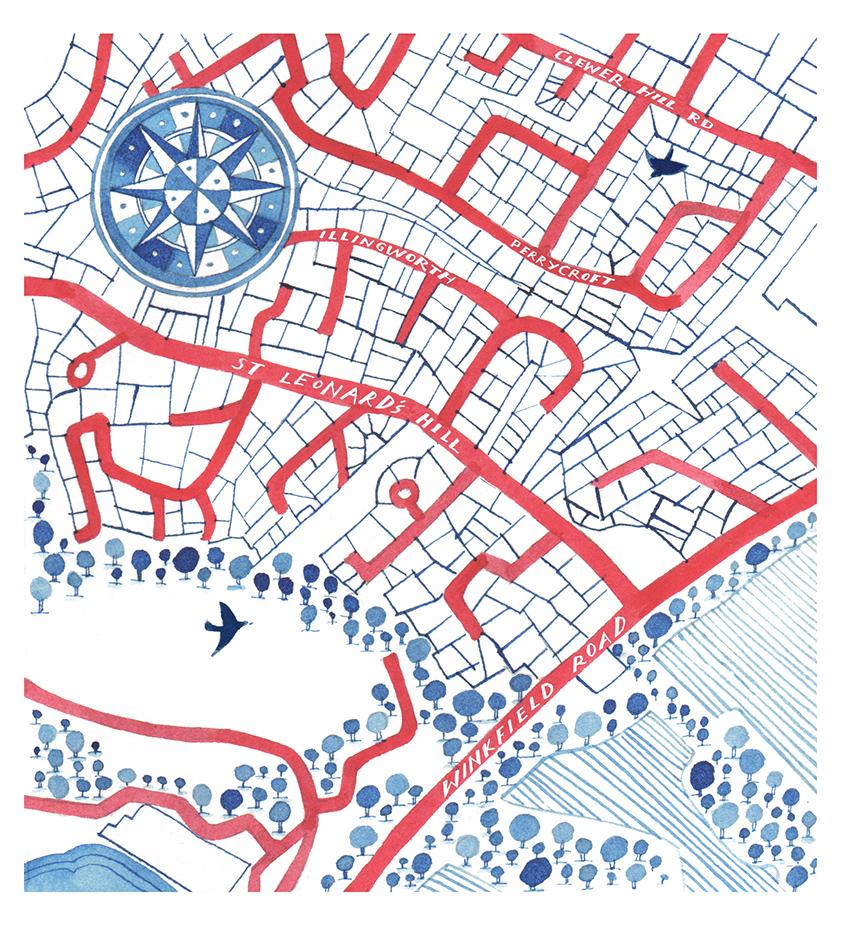 Map of Illingworth